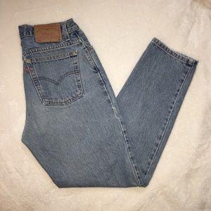 Vintage Levi's 550 high waisted mom jeans